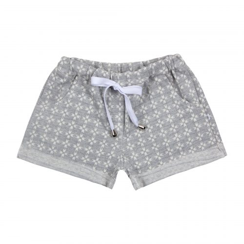 Short Barra Dobrada Estampado