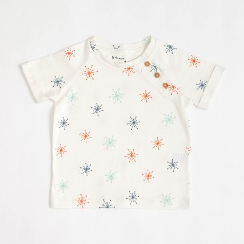 Camiseta Tim 3 Botões Splash Cotton Cloud